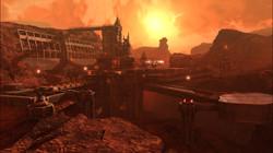 mars mining station