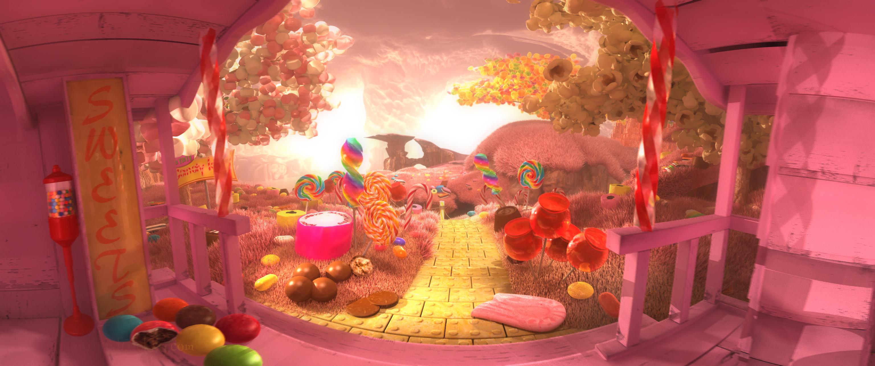 gangou&Tricksy_Candyland_VRworld02