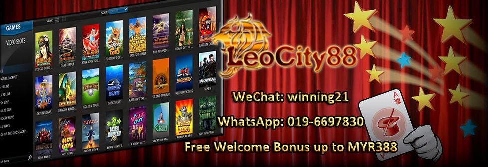 Leocity-Leocity88 Online Slot Games Free Bonus Register Agent Malaysia