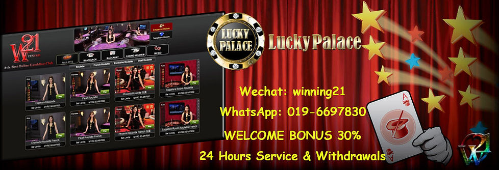 Lucky Palace-LPE88 Online Casino Register Agent Malaysia