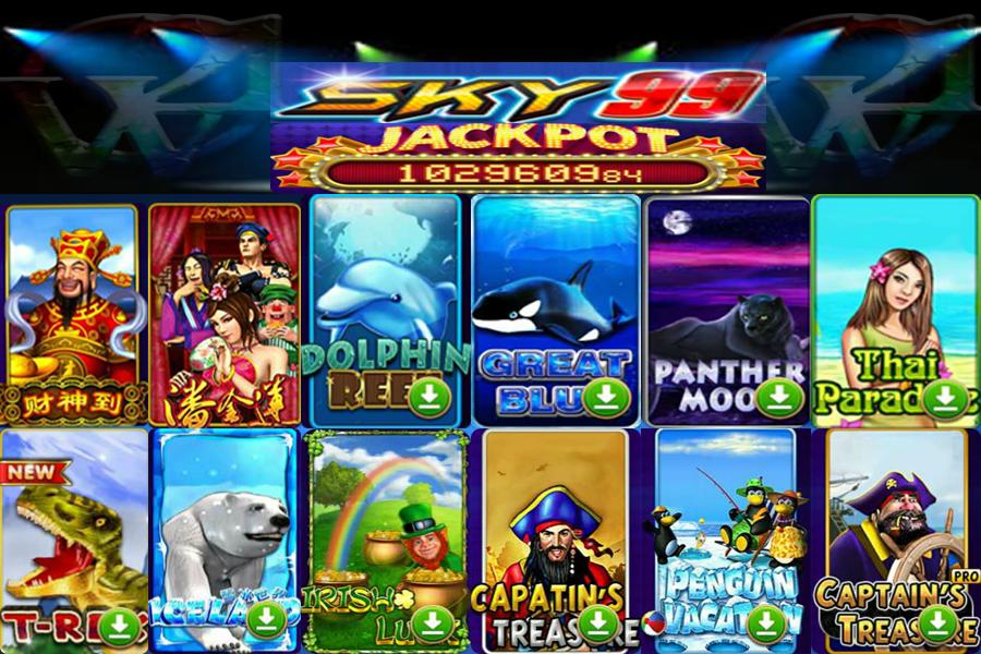 Sky99 Online Slot Game (Jackpot))