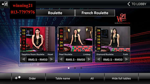 crown128 sexy live dealers, live roulette , french roulette , crown128 mobile live casino