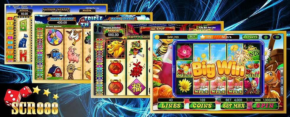 scr888 online casino Malaysia
