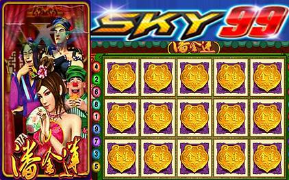 Sky99 Pan Jin Lian Slot Game