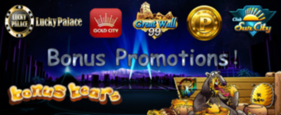 Club Suncity-GW99-Great Wall 99 - P2P Online Casino Free Bonus
