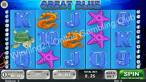 Rich96 Great Blue Mobile Slot game