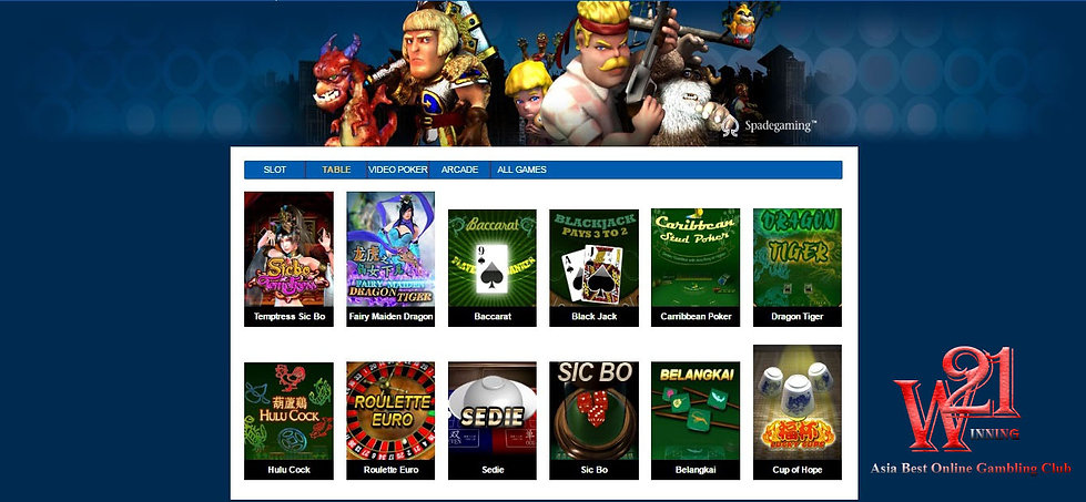SAMSUNG88 Online Casino Table Games