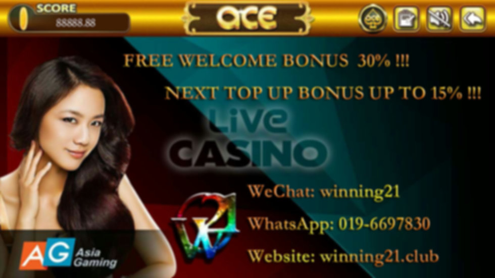 ACE9 Online Casino Live Dealer Games - AG Gaming/ ALLBET