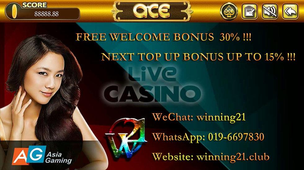 ACE9 Online Casino Live Dealer Games - AG Gaming/ ALLBET