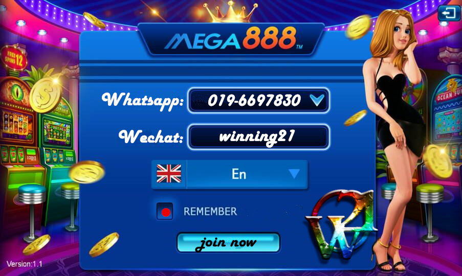 winning21-mega888 online slot game