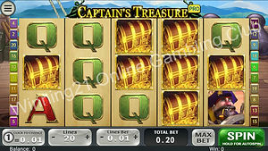Rich96 Captain's Treasure Slot Game