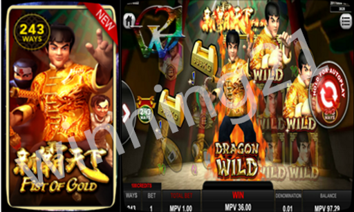 SKY777 Fist Of Gold Slot Game