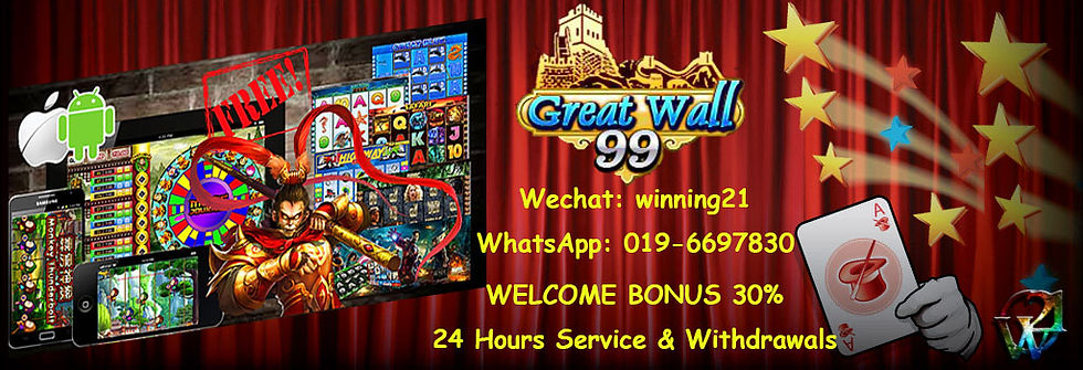 Club Suncity-GW99-Great Wall 99 - P2P Online Casino Register Agent Malaysia