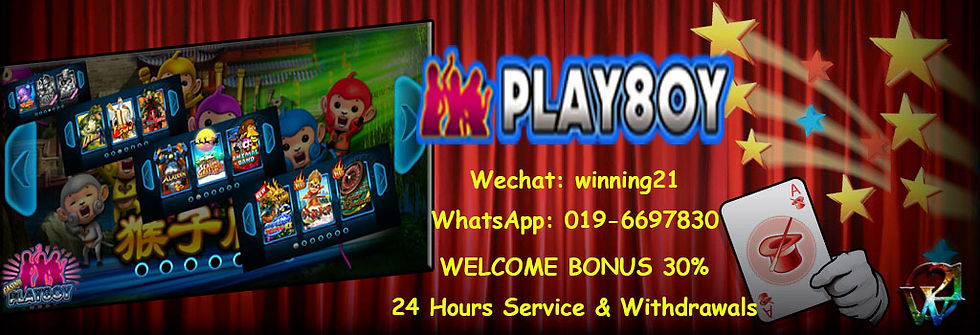 playboy888-play8oy Online Casino Free Welcome Bonus Agent Malaysia