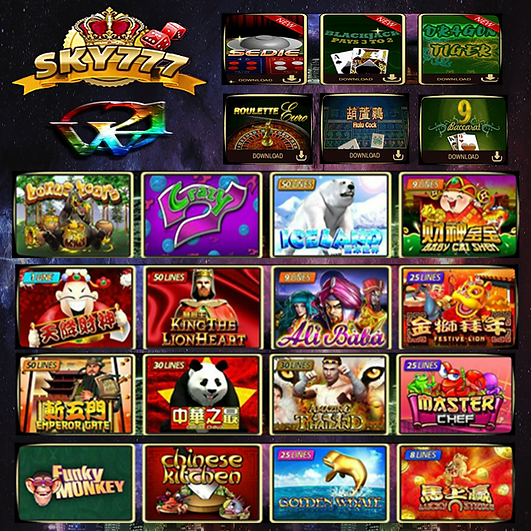 SKY777 Online Slot Game&E Casino