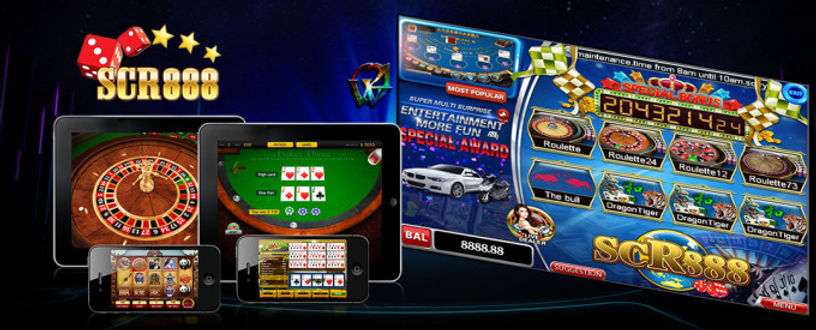 SCR888 Online Slot Games iOS / PC Download