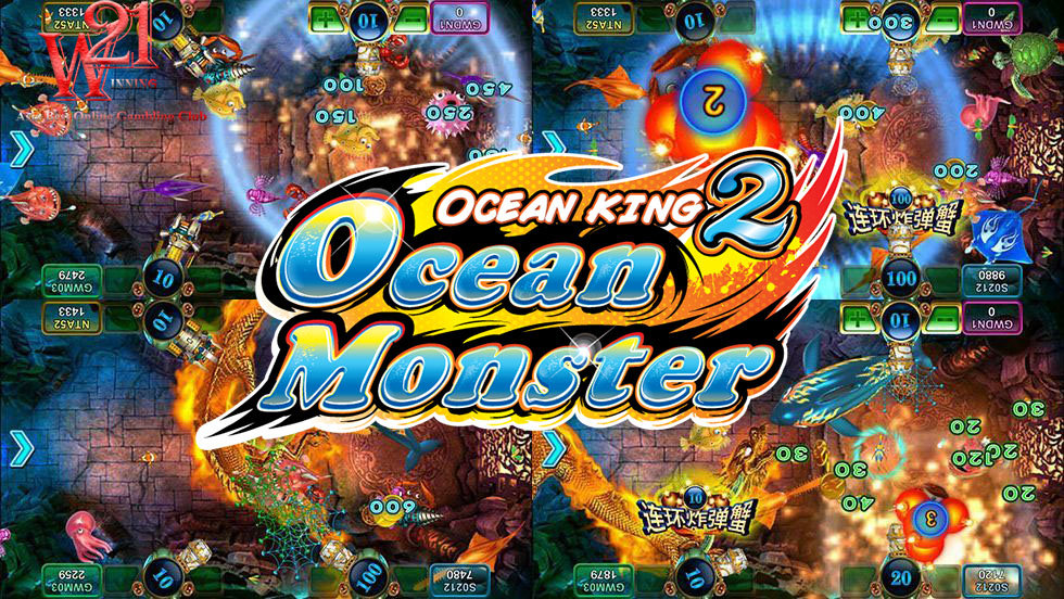 Ocean King 2 , Fish shooting game , p2p , playboy888 , greatwall99 casino