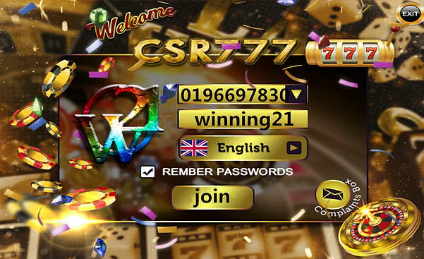 winning21 CSR777 Online Game