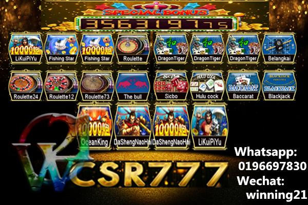 winning21 Csr777 Table/Fish Games