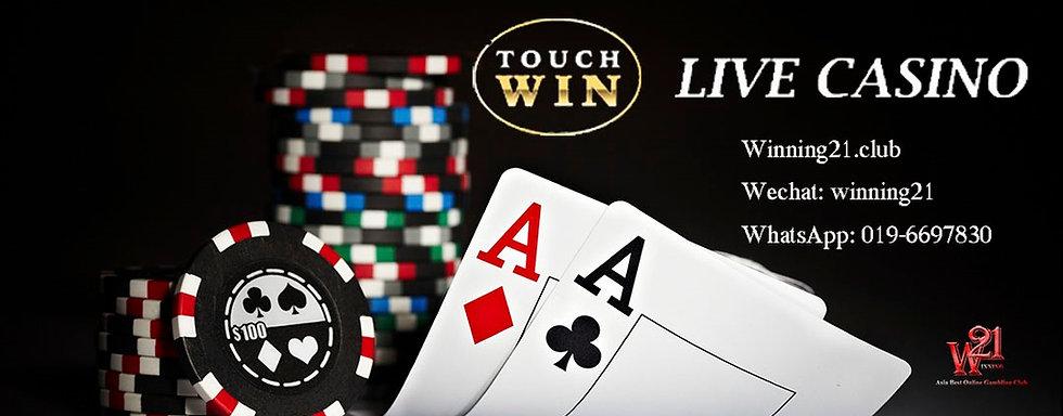 Touchwin live casino Malaysia