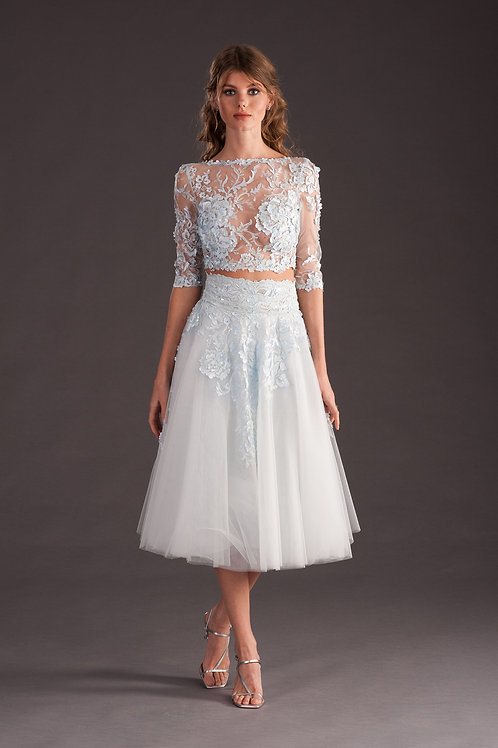 Style Top 4768 and Skirt 4769