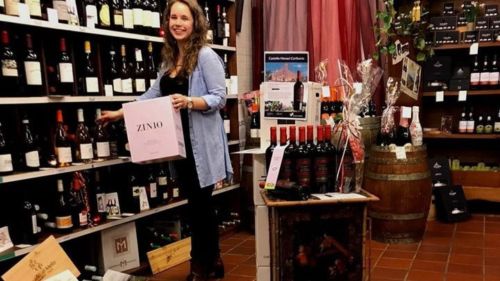 Wijn verrassingsdoos