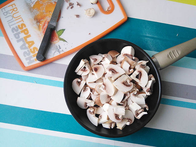 feuilletés aux champignons véganes