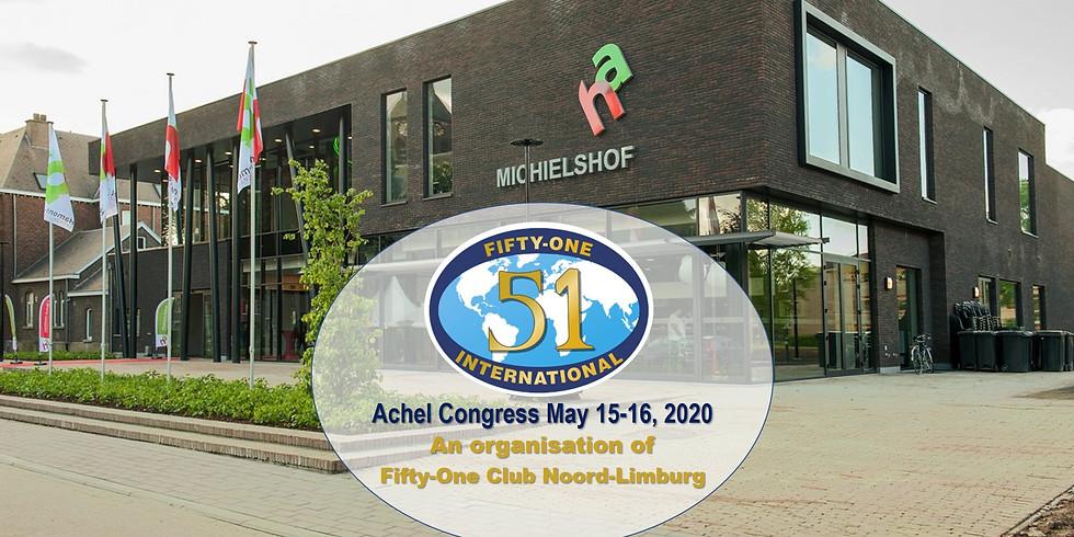 Achel Congress May 15-16, 2020