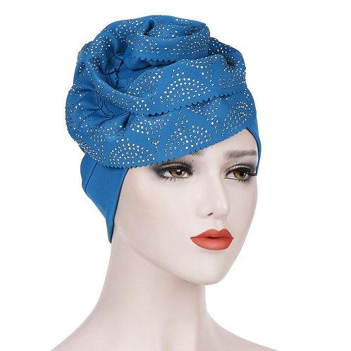 Muslim Cross Scarf Inner Hijab Cap Headband Turban