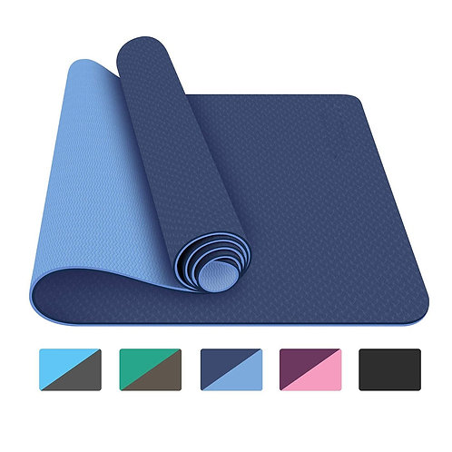 Yoga Mat Gymnastics Mat Non Slip With Carrying Strap Bag