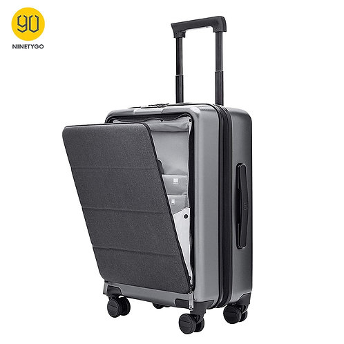 Slate Gray Spinner Wheels 20 Inch Hardshell  TSA Compliant Suitcase