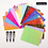 Thumbnail: 1/6/8/13/16pc Holographic Nail Foil Colorful Flame Graffiti Design
