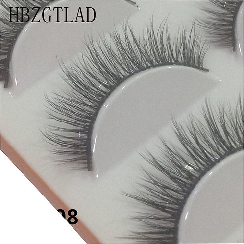 3D Handmade Eyelashes Daily Makeup