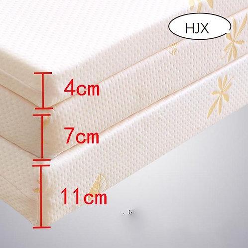 100% Memory Foam Mattress Foldable Slow Rebound Tatami Cotton Mattress Cover