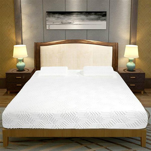 10in Foam Mattress Four-Layer COOL Medium Firm With Two Pillows