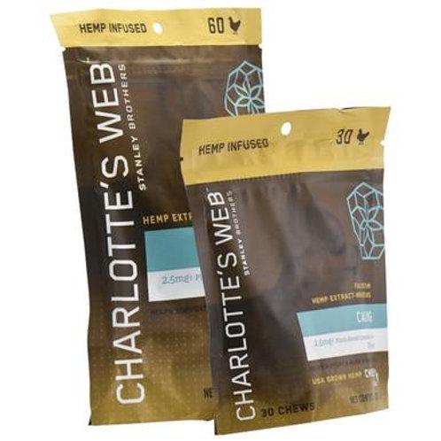 Charlottes Web - CBD Pet Edible - Full Spectrum Calming Chews - 75mg-150mg