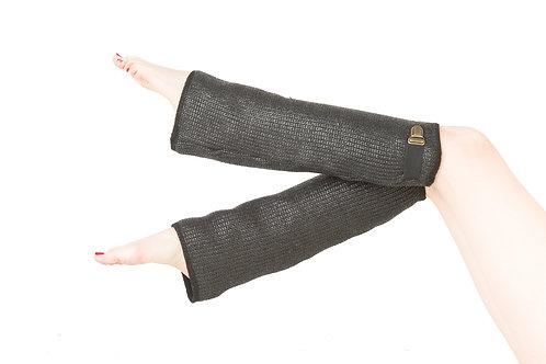 Coated Wool Legwarmers