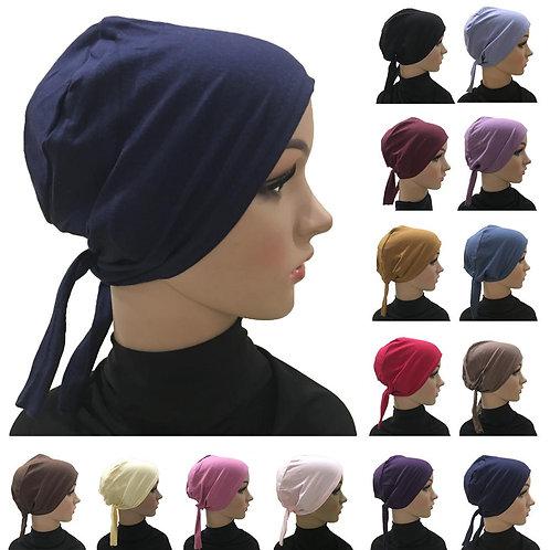 Cotton Under Scarf Hijab Inner Muslim Bandana Arab Bonnet