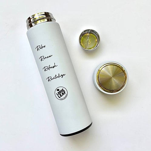 Loose Leaf Stainless Steel Insulated Tea Tumbler