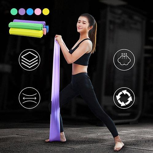 1.5M Yoga Pilates Elastic Stretch Yoga Training Band