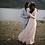 Thumbnail: Curve & Plus Size Off-The-Shoulder Blush Dress #1119