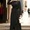Thumbnail: Morrocan Open Abayas Dresses for Ramadan Dubai Long Sleeve KaftanWith Belt