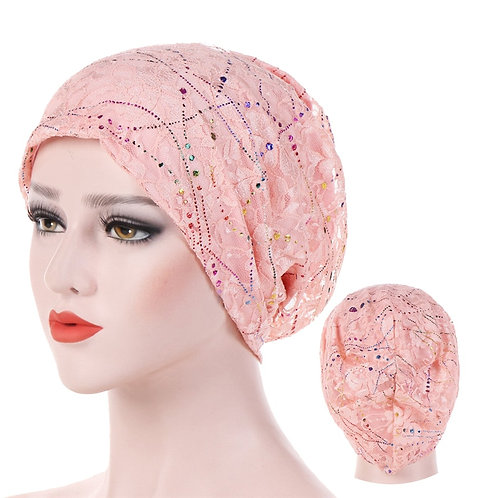 Thin Lace Summer Turban