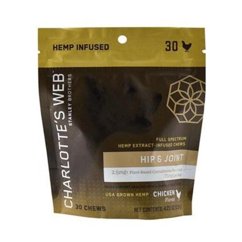 Charlottes Web - CBD Pet Edible - Full Spectrum Hip & Joint Chews - 75mg
