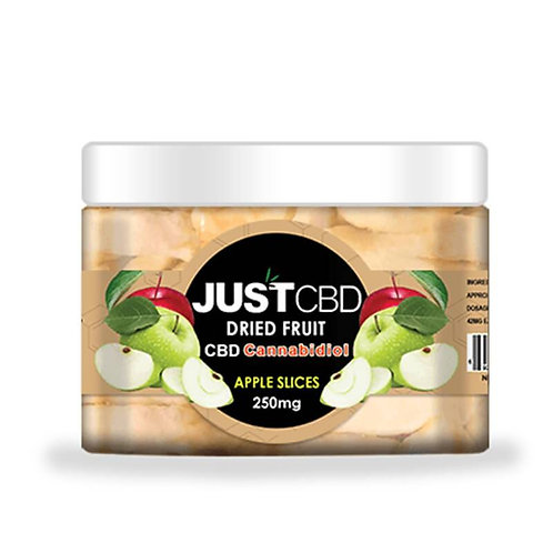 JustCBD - CBD Edible - Dried Apple Slices - 12mg