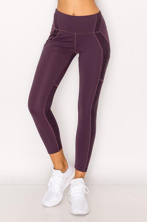 Purple Be You Legging