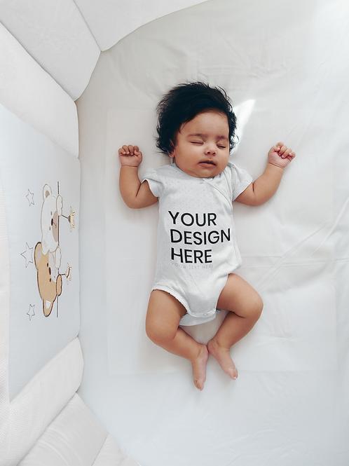 Unisex Infant Custom  Short-Sleeve Bodysuit