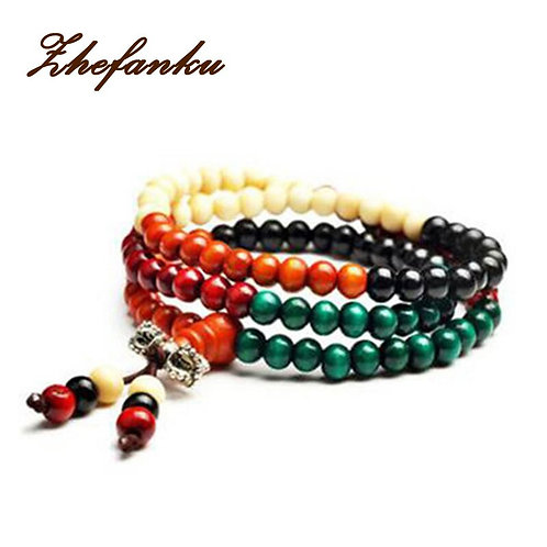 Meditation 6mm 108 Prayer Bead Mala Bracelet Necklace