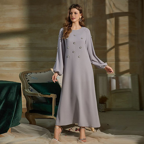 Abaya Dubai Turkey Muslim Fashion Hijab Dress Kaftan Islam Clothing