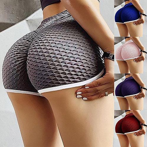 Women Basic Slip Bike Shorts Compression Workout Support